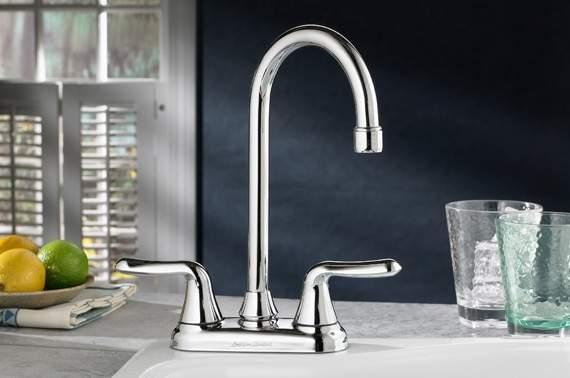 macatawa plumbing kitchen faucet silver